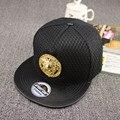 Металл Фараон украшения новый мужской чистая плоские карнизы шляпа улица приток людей хип-хоп snapback скейтборд бейсболка