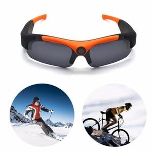 Image 5 - HD חכם 1080P 16GB/32GB מצלמה חכם משקפיים שחור/כתום מקוטב עדשת משקפי שמש מצלמה פעולה DVR ספורט וידאו מצלמה Glasse