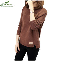 Winter Short Sweater Coat Women Fashion Large Size Loose Knitted Coat Female Autumn Thicken Warm Outerwear
