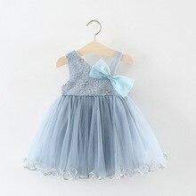 Vestido del bebé del verano del bebé princesa vestido niños ropa niños  vestidos florales para las muchachas vestido para 6-24 me. ea04c2ea678b