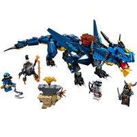 New Ninja Series Stormbringer Set Dragon Compatible With LegoINGLY Ninjagoes Model Building Blocks Brick Toys Gift For Children