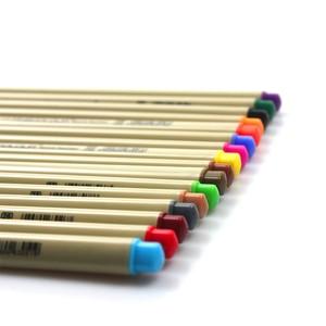 Image 4 - Finecolour Esboço EF300 Forro Colorido 0.3mm 48 Cores de Boa Qualidade da Mão Pintado Agulha Marcadores Da Arte Caneta com Plástico caso