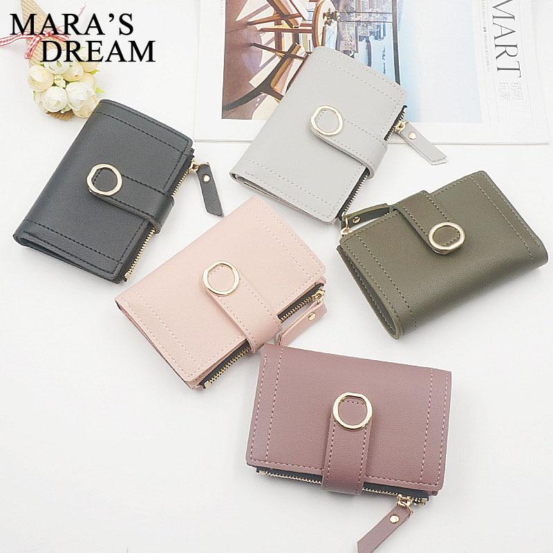 Mara's Dream Women Wallets Small Fashion Leather Purse Women Ladies Card Bag Women Clutch Women Female Purse Money Clip Wallet
