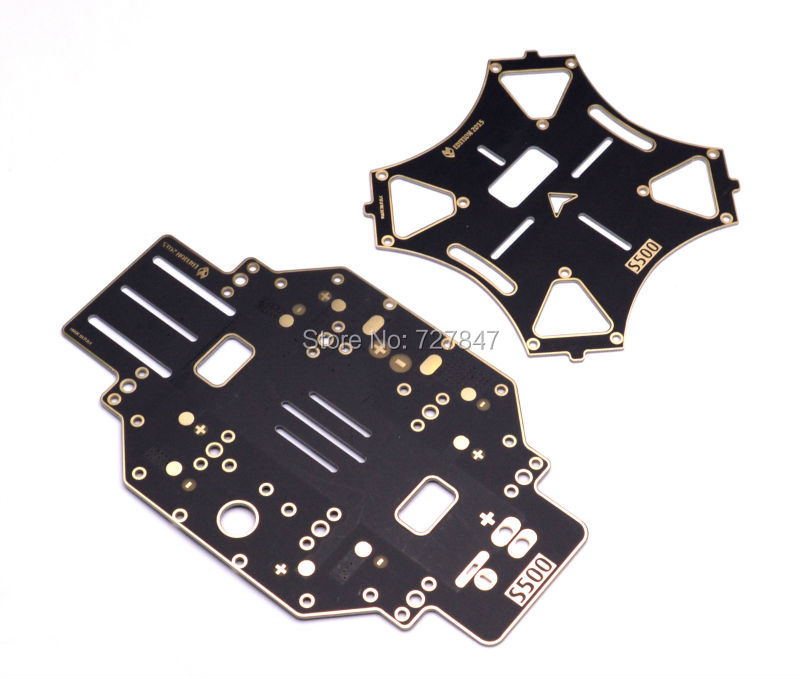 S500 SK500 PCB Version Quadcopter Frame Part Replacement Board PCB Centre Plate Gimbal Hanging HookScrews Nuts Arms
