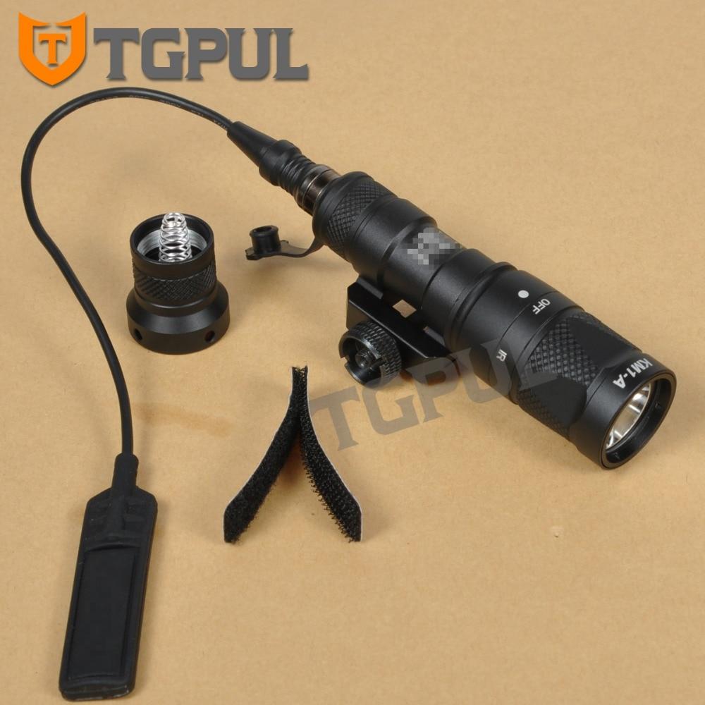 TGPUL M300 M300V Tactical Flashlight Gun Weapon Light Military Hunting Strobe Torch For 20mm Weaver Picatinny