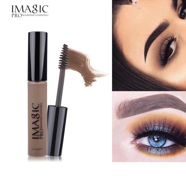 Professional Eye Maquiagem Dark Brown Pencil Waterproof Eyebrow Cream Colored Henna Eyebrow Tint Eyebrow Enhancer Tattoo Make Up