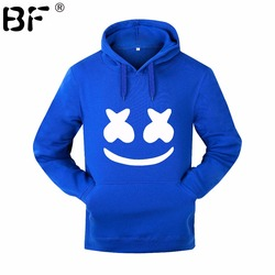 Marshmello Smiley Face Hoodies Men Hip Hop Fashion Streetwear Hoodie SweatshirtS M-3XL Hoodied Man Tops Brand Clothes 2