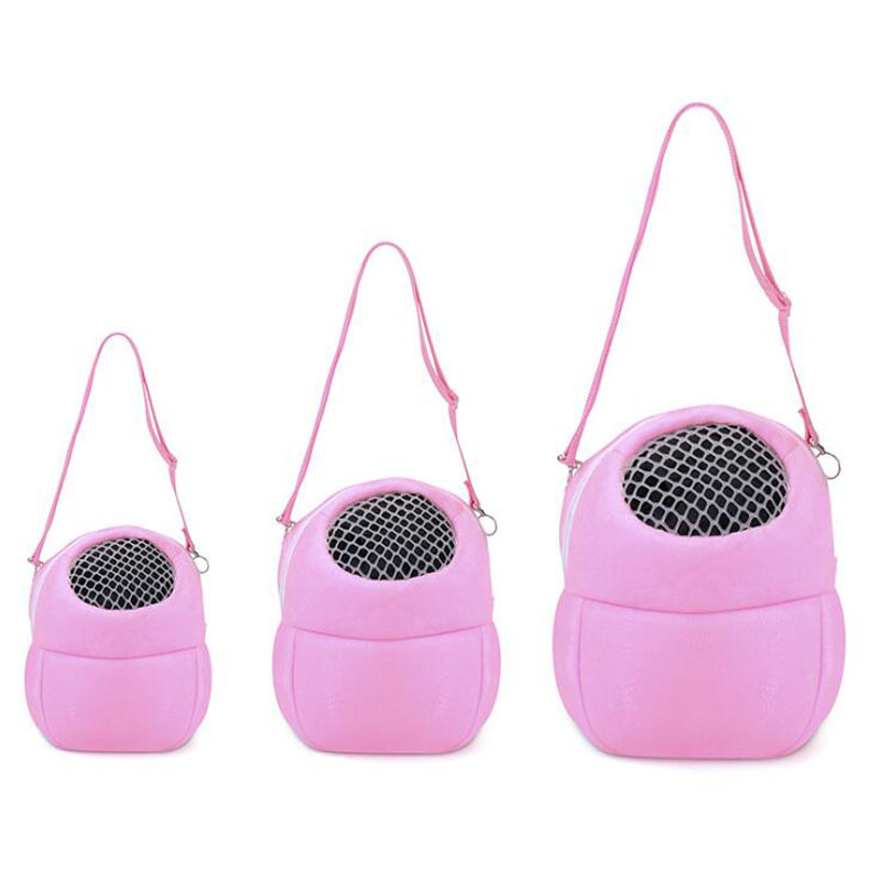 Portable Pet Bag Small Animals Carrier Warm Sleeping Travel Hanging Bag For Puppy Rat Hamster Hedgehog Pet Supplies