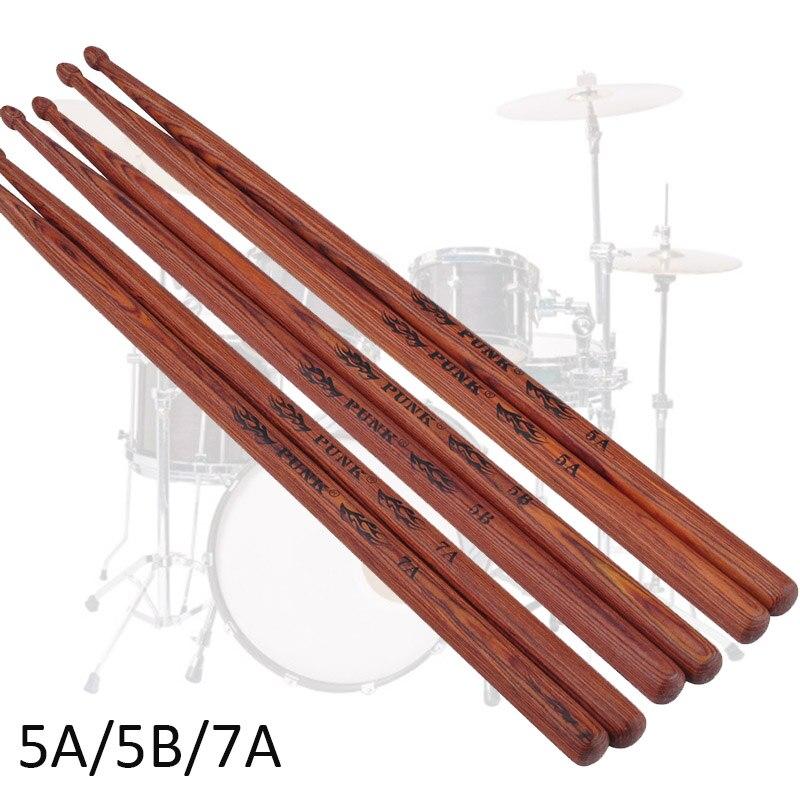 Professional Drum Sticks Wooden Classic Vic Firth Drumsticks Hickory Walnut Wood 5A Drumsticks Musical Instruments Drum Sticks