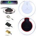 Qi Wireless Induction Charger Charging Pad For Iphone 7/6/6s/Plus Doogee Y6 Max Letv Leeco Le Max 2/Pro 3/S3 Charger Receiver