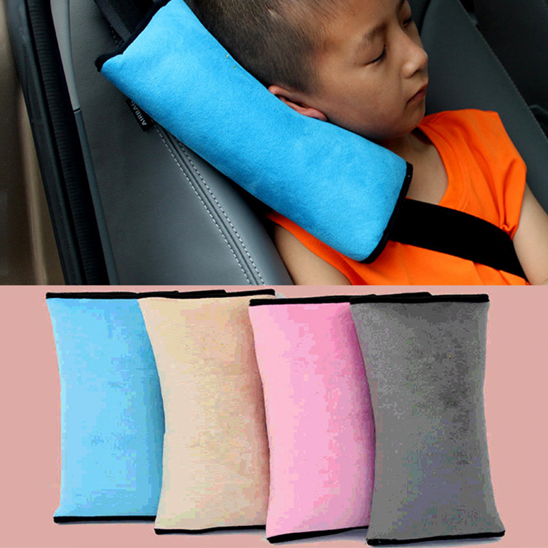 Kid Pillows Auto Safety Seat Belt Vehicle Shoulder Cushion Pad Children Protection Support Pillow For Kids Pillow