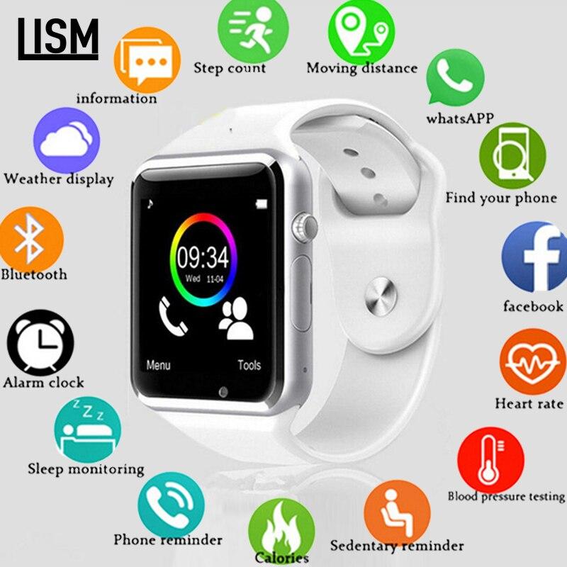 Fábrica a1 relógio inteligente com câmera passometer sim cartão chamada smartwatch para xiaomi huawei htc telefone android melhor do que y1 dz09