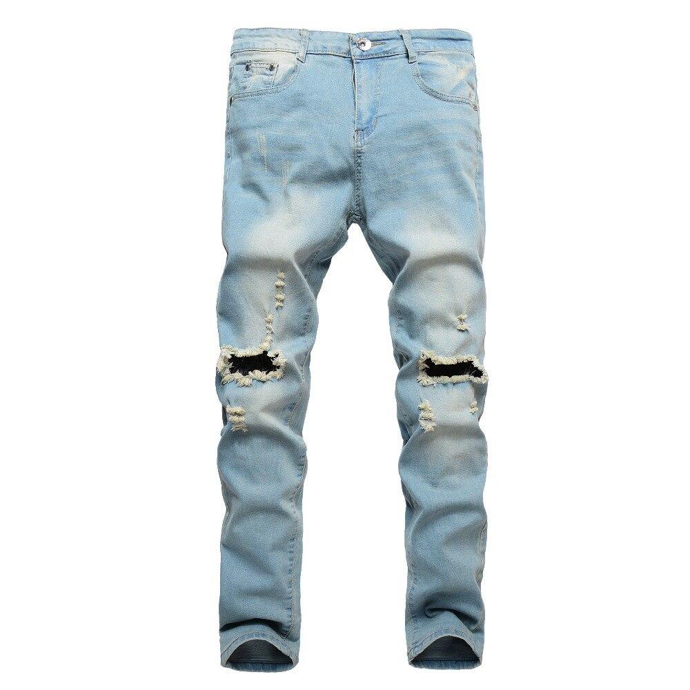 2019 Moda Nuovi Uomini Jeans Strappati Moda Scava Fuori Stampato Mendicante Pantaloni Corti Giovane Uomo Cowboys Hip Hop Trendy Hombre