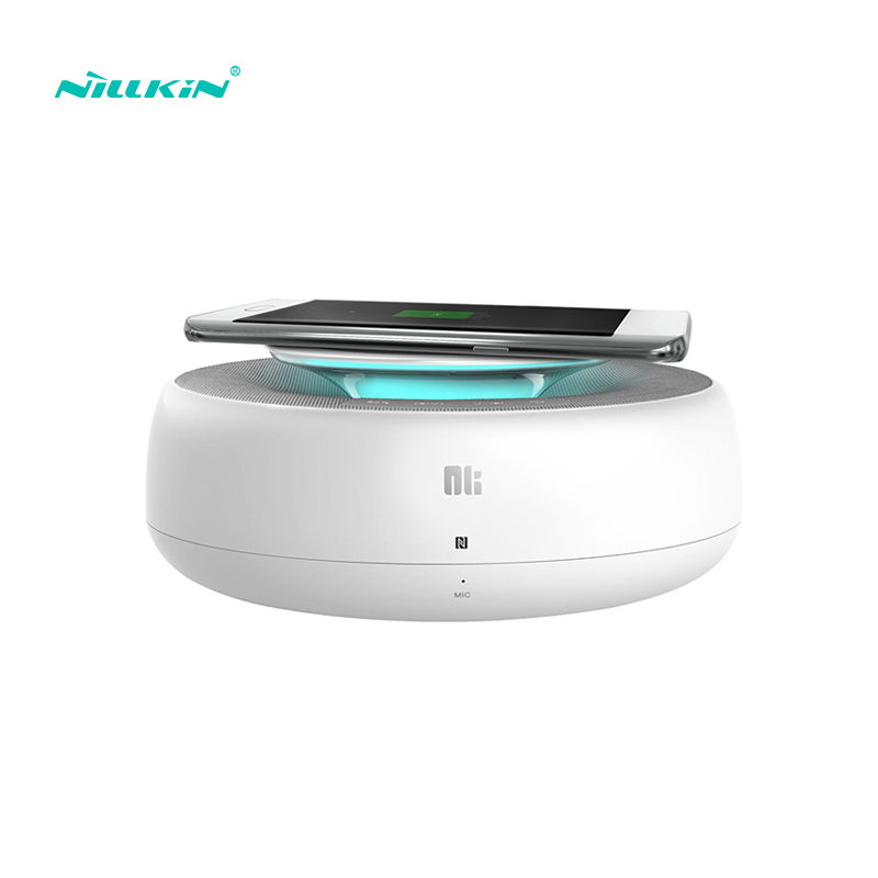RU QI Wireless Charger Nillkin Wireless Bluetooth Speaker for iphone Music surround speaker charger for samsung s6/5 6 7/7 Edge