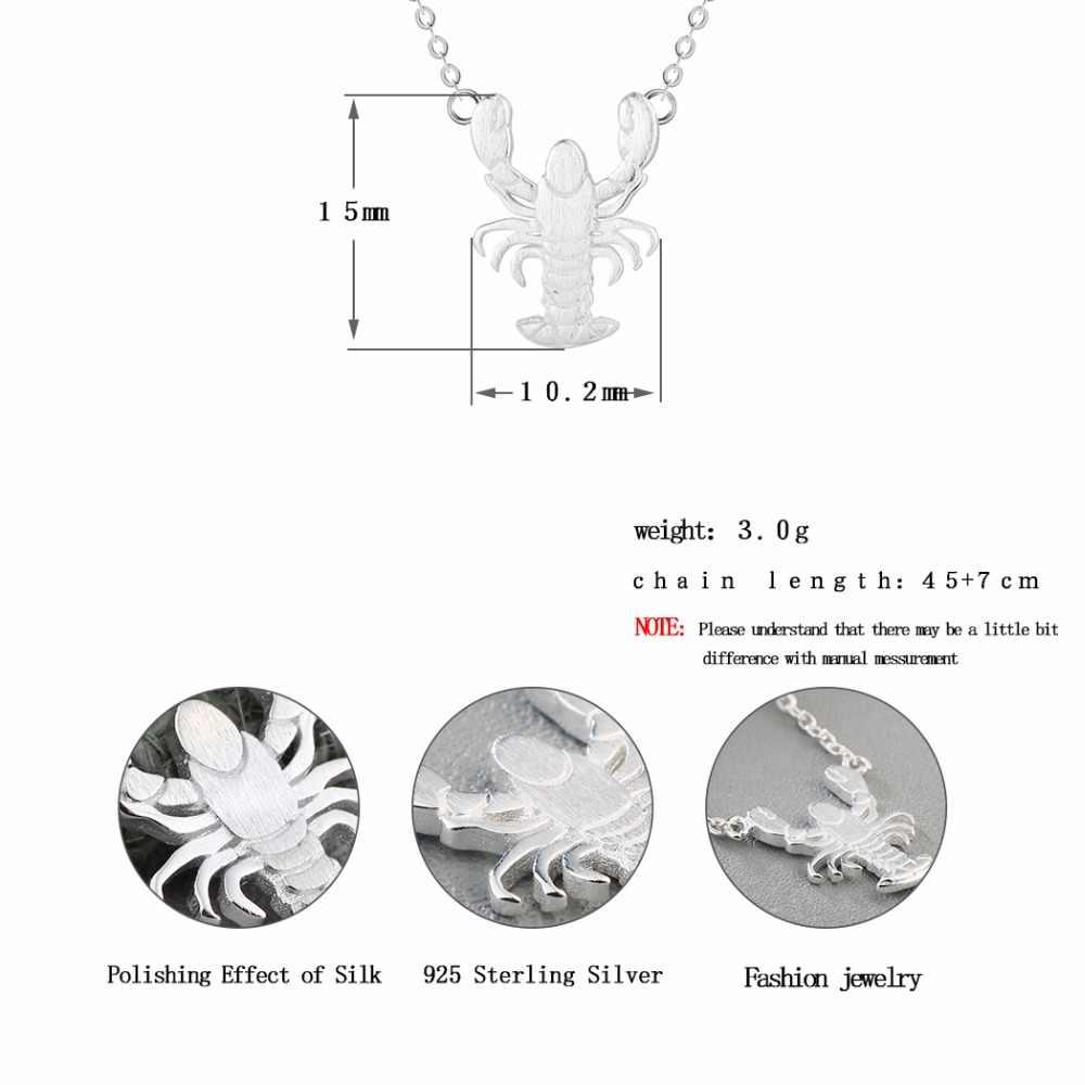CHENGXUN Vintage Punk Animal pendentif bijoux femmes filles Animal Collier homard pendentif mode Collier