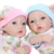 Mais novo de 10 Polegadas Mini Bebê Menino E Menina Cheia de Vinil Bebê Reborn bonecas Com Grandes Olhos Boneca Viva Bebê Real lindo Vestido Olhar anjo