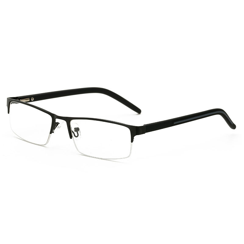 Apparel Accessories 2018 Brand High-end Business Reading Glasses Men Stainless Steel Pd62 Glasses Ochki 1.75+3.25 Degree Gafas De Lectura Reader A Plastic Case Is Compartmentalized For Safe Storage