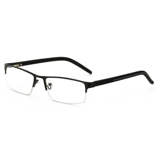 5f9540edb71 2018 Brand High-end Business Reading Glasses Men Stainless Steel PD62  Glasses Ochki 1.75+3.25 Degree Gafas De Lectura reader