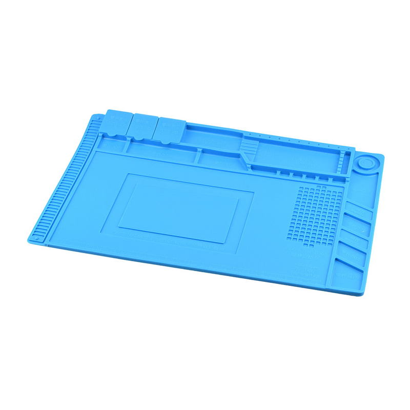 45x30cm Heat Insulation Silicon Pad Desk Mat Maintenance Platform For Bga Soldering Repair Station Without Return