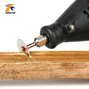 Image 5 - Прямая поставка, набор инструментов, 20 шт./лот, 22 мм, циркулярные пильные лезвия HSS, резак по дереву, Аксессуары Dremel для вращающихся инструментов, деревообработка