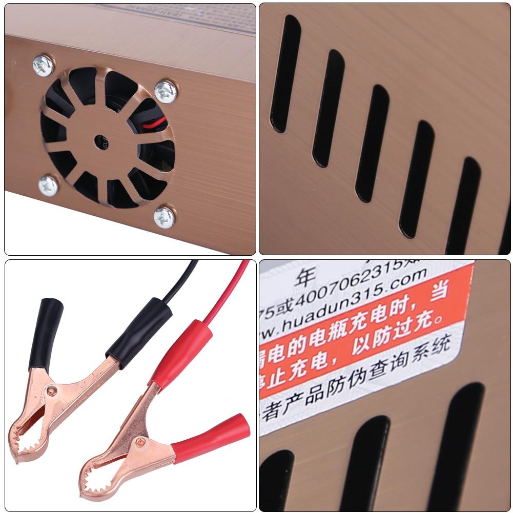 110 V / 220 V W pełni automatyczna elektryczna ładowarka - Części samochodowe - Zdjęcie 5