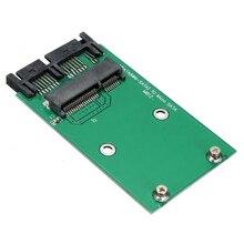 لوحة وحدة محول بطاقة صغيرة PCI e mSATA SSD إلى 1.8 بوصة من المحول بطاقة SATA