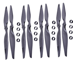 Image 1 - F05314 4 Pairs 13x6.5 3K Carbon Fiber Propeller CW CCW 1365 CF Props  for DIY RC Quadcopter Hexacopter Multi Rotor