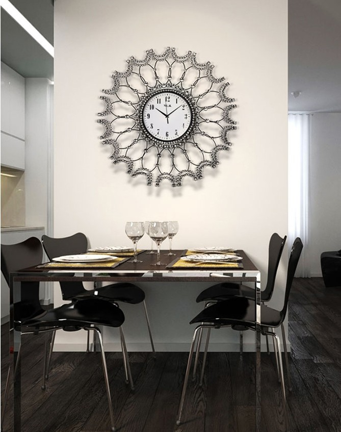 Awesome Living Room Wall Clocks Contemporary ...