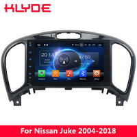 KLYDE 4G Octa Core 4GB+32GB Android 8 7 Car DVD Player Radio Stereo For Nissan Juke 2004 2011 2012 2013 2014 2015 2016 2017 2018