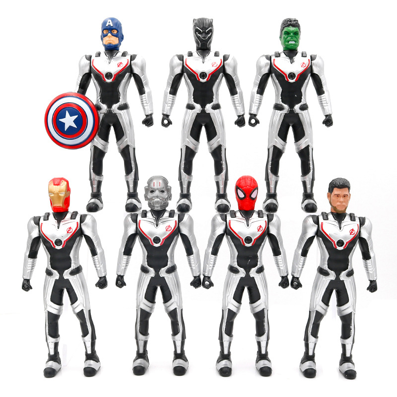 18cm Marvel Avengers Endgame Thanos Spiderman Hulk Iron Man Captain America Thor Wolverine Action Figure Toys Dolls For Kid18cm Marvel Avengers Endgame Thanos Spiderman Hulk Iron Man Captain America Thor Wolverine Action Figure Toys Dolls For Kid