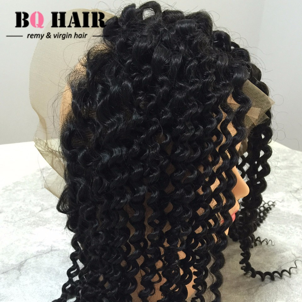 Deep Curly 360 lace virgin hair with bundles curly weave human hair cabelo mink Malaysia hair (7)