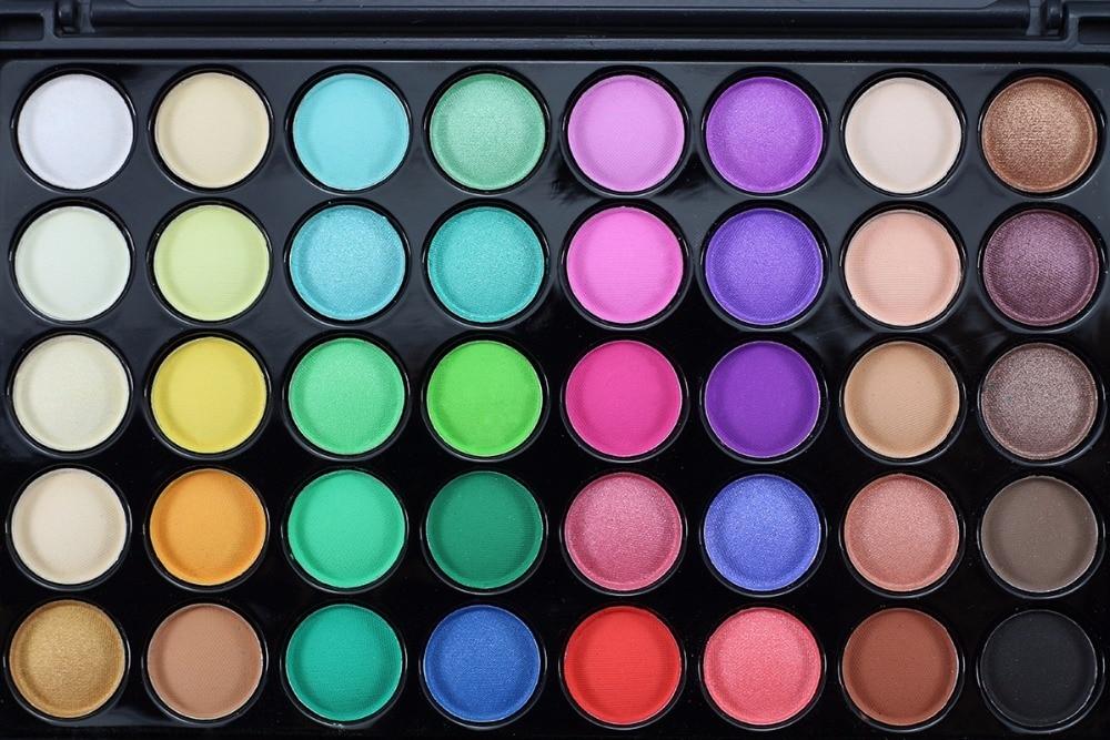 naqier 40 Color Matte Eyeshadow Pallete Make Up Earth Palette Eye Shadow  Makeup Glitter Waterproof Lasting Makeup Easy to Wear eyes 08c799c245