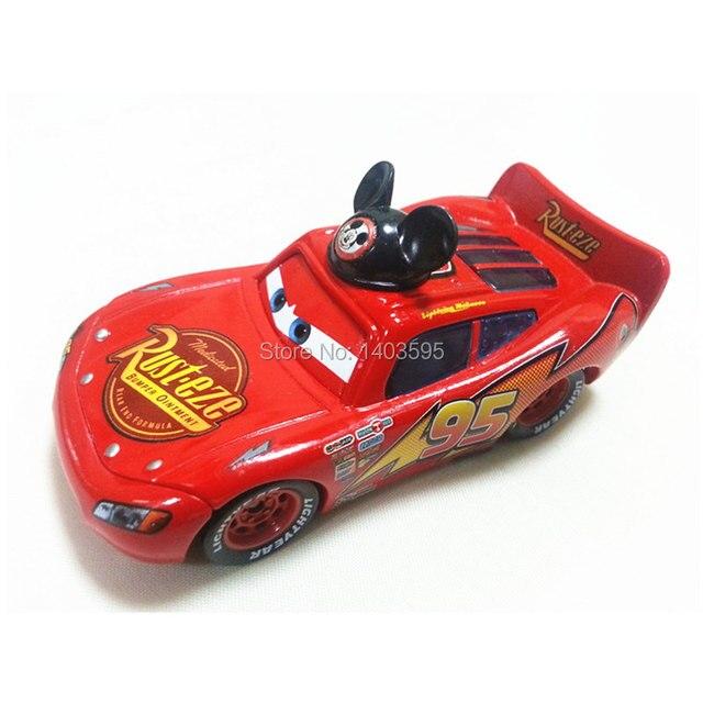 Pixar Автомобили № 95 Микки Флэш МК Металл Игрушечных Автомобилей 1:55 Свободные Абсолютно Новый и Бесплатная Доставка