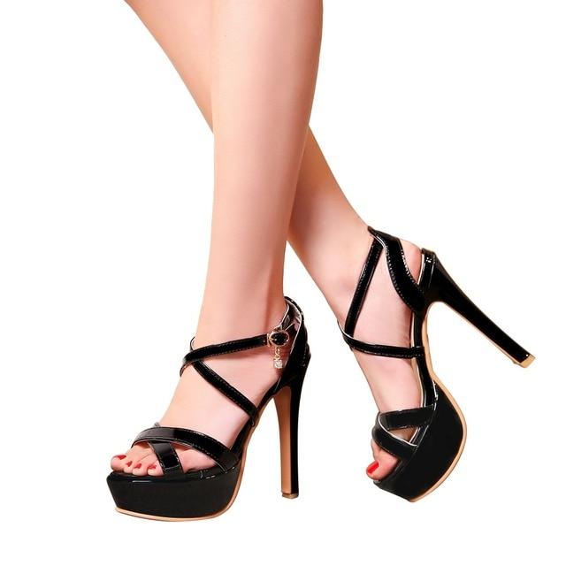 Super Big Size 32-48 Gladiator Sandals Women Sandals Sexy Open toe Summer Shoes Woman High Heels Sandals Platform Summer Style 10