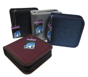 high-end  CD Storage Bag/Case/Disc Storage Package/Holder  40pcs cd case dvd case bag