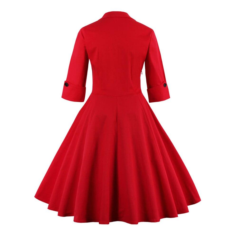 aliexpresscom buy winter dress sale time limited cotton 2017 50s vintage christmas dress for women elegant evening party swing plus size vestidos from - Vintage Christmas Dress