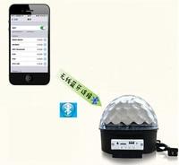 Bluetooth Magic Ball Light KTV Laser Light Wedding Bar Rotating Lights Flash MP3 Audio Stage Lighting