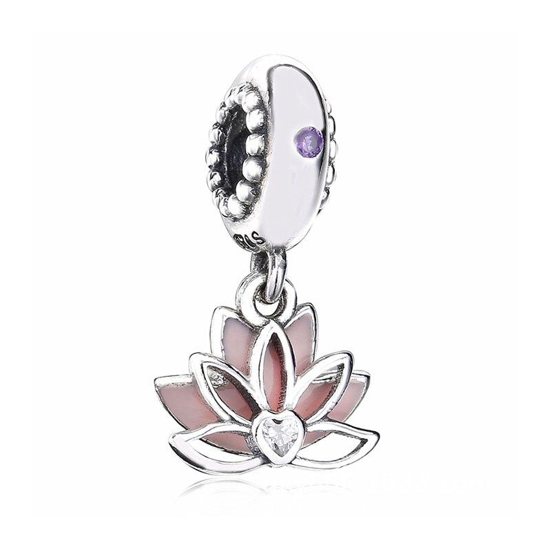 charm pandora lotus