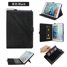 For iPad Mini 5 Case iPad Mini 4 Case Cover Smart Flip-open Case Card Slot Wallet Stand Protective Case for iPad Mini 1/2/3 Case стоимость