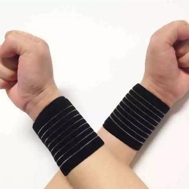 Hand Bandage Dumbbell Wrist Support Wraps Wristband Men Spor Bileklik Powerlifting Fitness Gym Bracelet Wrist Protector Brace Wrist Support
