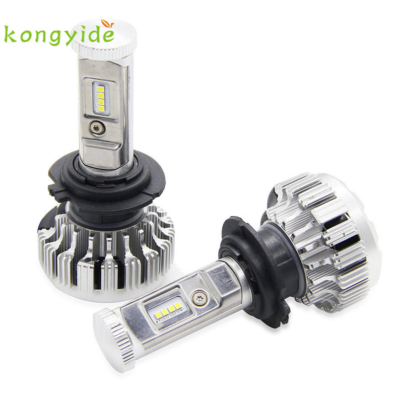 120W 12000LM H7 LED Lamp Headlight Kit Car Beam Bulbs 6000k White Canbus Luz Ligero new hot drop shipping 17july3 free ship 1 pair car styling headlight bulbs kit csp h7 30w 6000k super white lighting