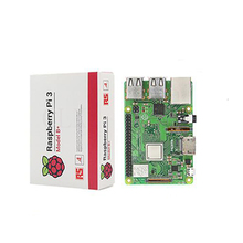 Orijinal Raspberry Pi 3 Model B + (fiş) dahili Broadcom 1.4 GHz quad-core 64 bit işlemci Wifi Bluetooth ve USB Bağlantı Noktası