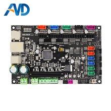 3 Dpriter Smoothieware carte contrôleur MKS SBASE V1.3 opensource 32bit Smoothieboard Bras soutien Ethernet préinstallé dissipateurs