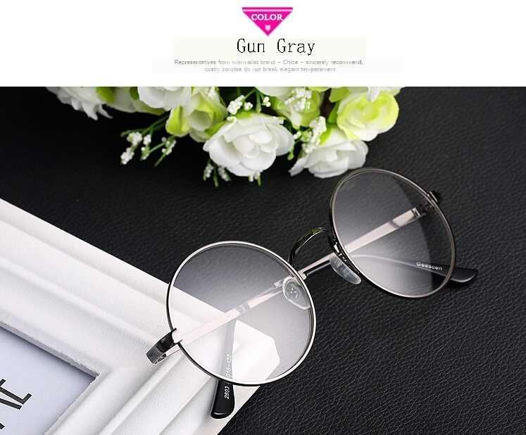 fbaf627937d9 ... Cute Japanese Mori Girls VINTAGE Round Fashion Glasses Eyewear Metal  Frame Lolita Accessory ...