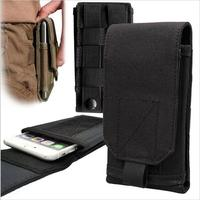 Outdoor Tactical Holster MOLLE Army Camo Holster Cover Case Phone Bag Belt Pouch For Iphone7 Sumsung