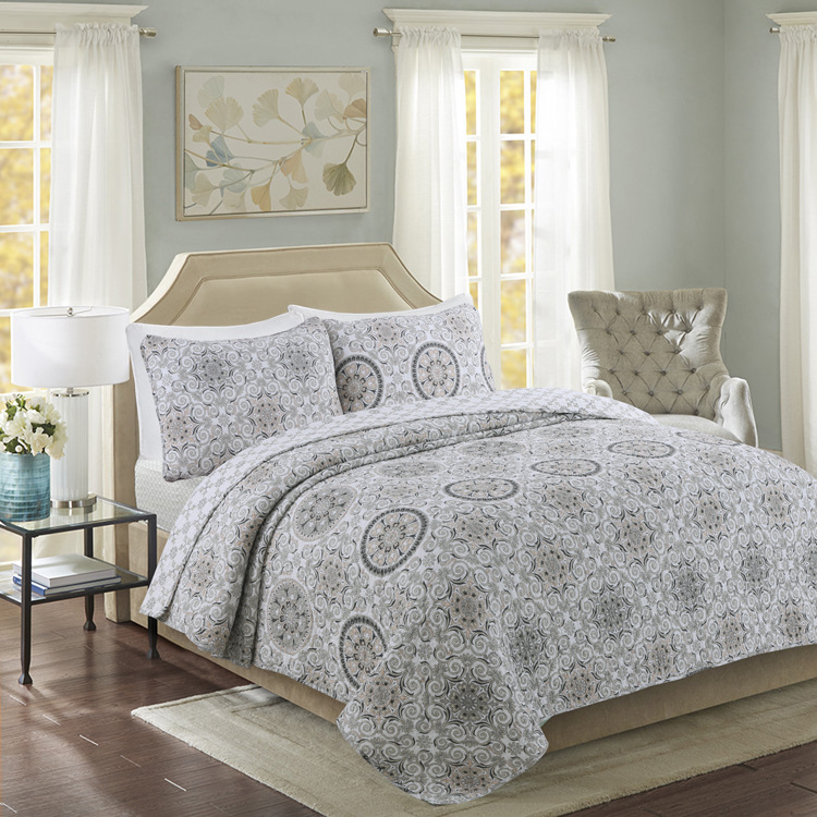 Jacquard Handmade Patchwork Quilt Set 3pcs Wash Cotton Aircondition Quilts Bedspread Bedcover Bed Sheets King Size