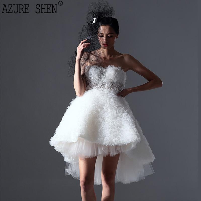 AZURE SHEN Tailor made Winter Slim A Line Women Dress Fashion High