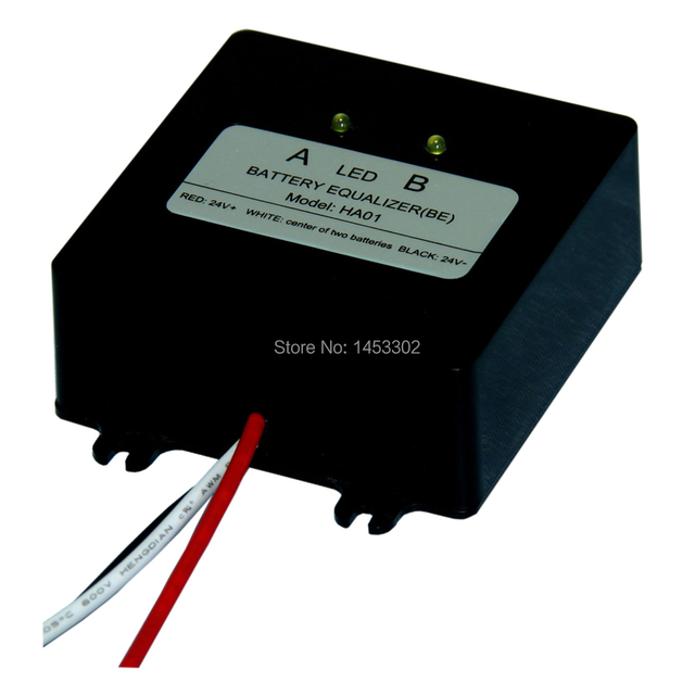 battery balancer for 24V lead acid battery bank system, for N*12V lead acid battery bank system, 24V battery equalizer