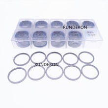 400pcs B26 Washer Shim Common Rail Injector Armature Lift Adjustment Gasket Kit Size 1.57-1.60 Accuracy 0.01mm for 0445 120