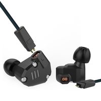 KZ ZS6 2DD 2BA Hybrid In Ear Earphone HIFI DJ Monitor Headphone Running Stereo Sport Headset